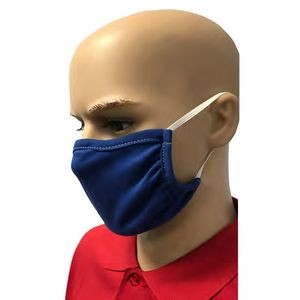 3ply, 100% Cotton Jersey knit, Washable Face Masks w/ ELASTIC EARLOOP - IN-STOCK, SAME-DAY LEAD TIME