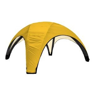 AirDome Inflatable Tent 26'x26' w/ Solid Color Top