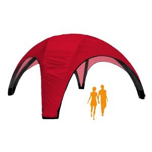 AirDome Inflatable Tent 20'x20' w/ Solid Color Top